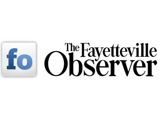 blue f o logo for the fayetteville observer