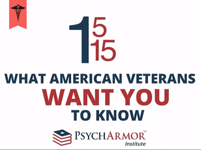 Healthcare Providers: 15 Things Veterans Want You to Know featured content