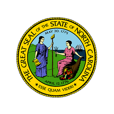 Our Partner The Great Seal of the State of North Carolina