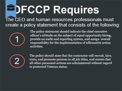 Office of Federal Contract Compliance Programs (OFCCP) course image