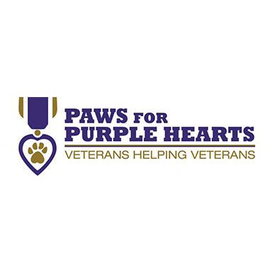 our partner paws for purple hearts