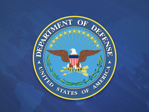 department of defense logo and background