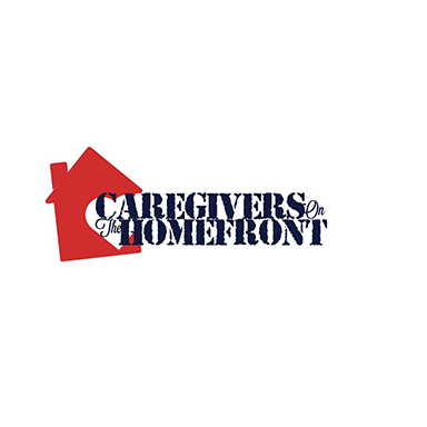 house vector with Caregivers On The Homfront text