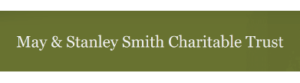 may and stanly smith charitable trust logo type
