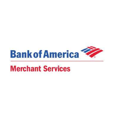 bank of america merchant services logo type logo icon