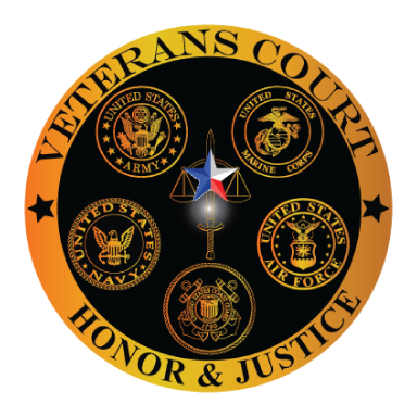 veterans court honor and justice logo type logo icon