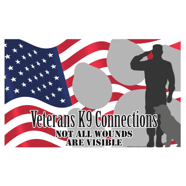 veteran k9 connection logo type logo icon