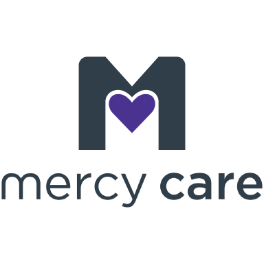 mercy care logo icon logo type