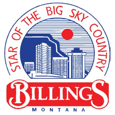 city of billings montana logo type logo icon