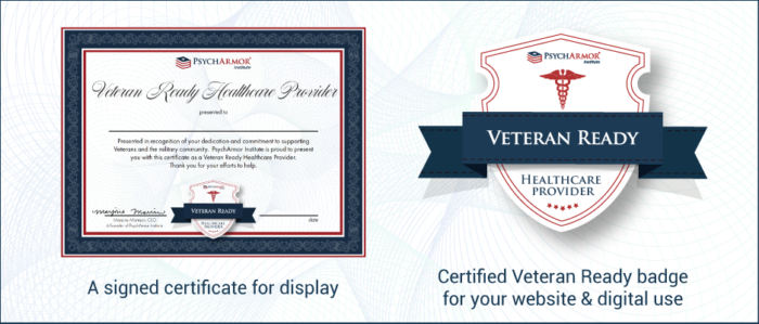 Signed certificate and Certified Ready badge graphic