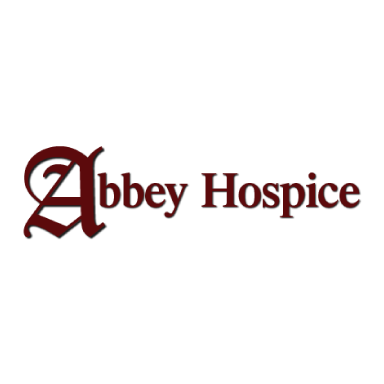 abbey hospice logo type logo icon