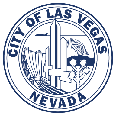city of las vegas nevada logo type logo icon