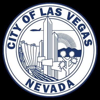city of las vegas nevada logo type logo icon