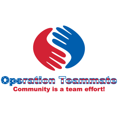 operation teammate logo icon logo type
