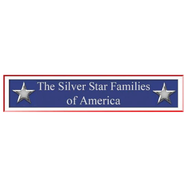 the silver star families of america logo type logo icon