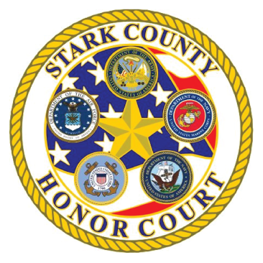 stark county honor court logo icon logo type