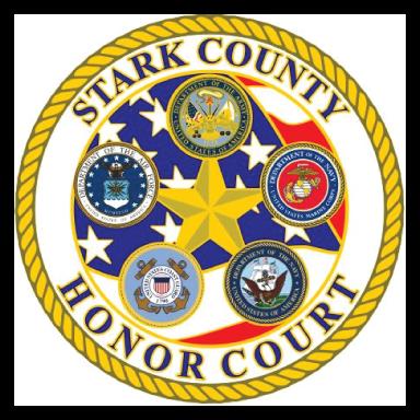 stark county honor court logo icon logo type