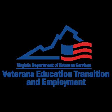 virginia department of veteran services logo type logo icon