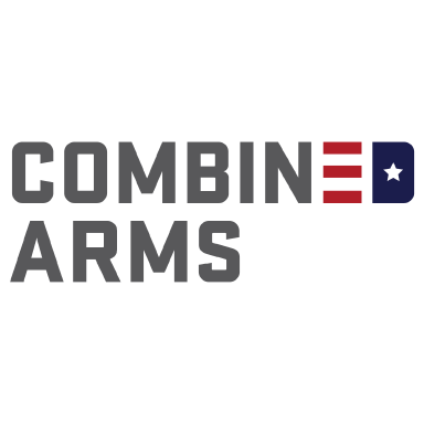 combined arms logo type logo icon