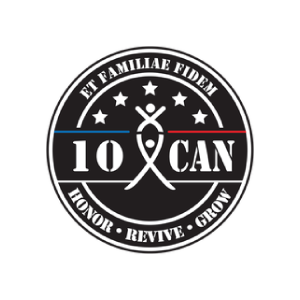 10 can logo type logo icon veteran registry