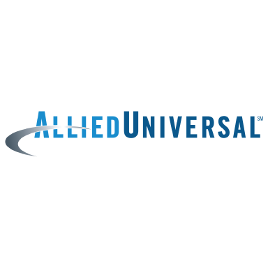 allied universal logo type logo icon