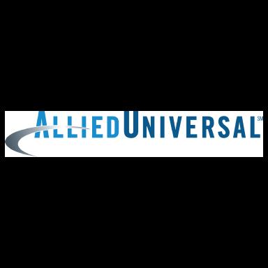 allied universal logo type logo icon