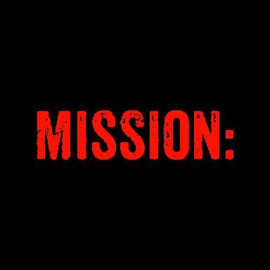 mission drive on logo type logo icon