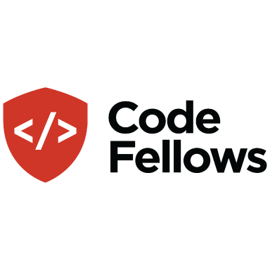 code fellows logo type logo icon