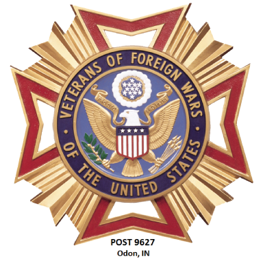 vfw post 9627 logo type logo icon