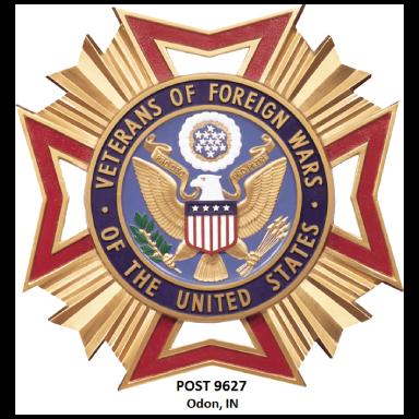 vfw post 9627 logo type logo icon