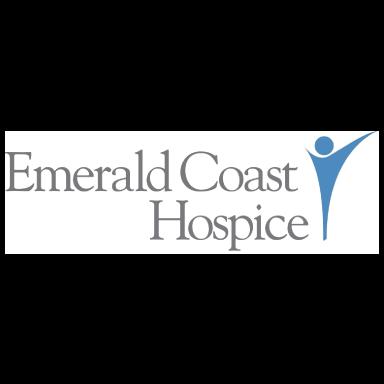 emerald coast hospice logo type logo icon