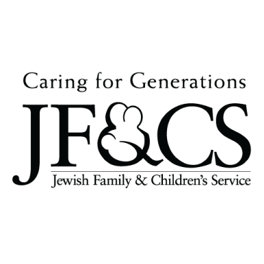 jewish family and children's service boston logo type logo icon