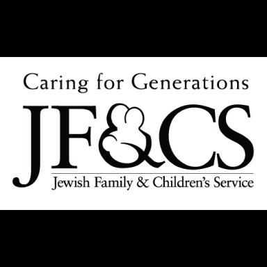 jewish family and children's service boston logo type logo icon