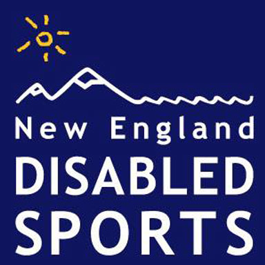 new england disabled sports logo type logo icon