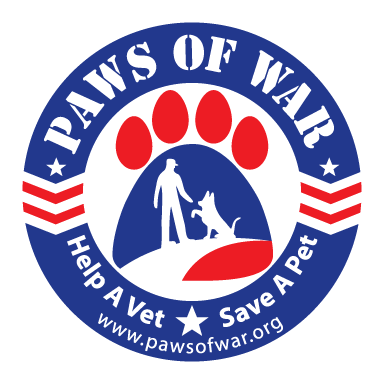 paws of war logo type logo icon