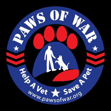 paws of war logo type logo icon