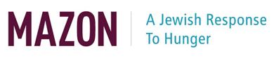 Mazon A Jewish Response To Hunger logo
